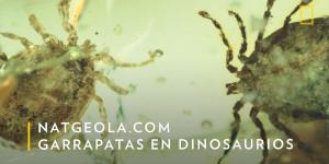 Nat Geo - Garrapatas en dinosaurios