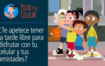 Pilar y su celular: Episodio 9 - ¿Sabes poner en marcha tu celular y disfrutar?