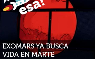 ExoMars busca vida en Marte