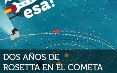 Dos años de Rosetta en el cometa