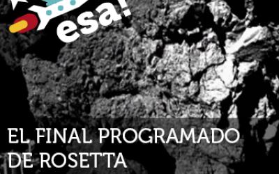 El final programado de Rosetta