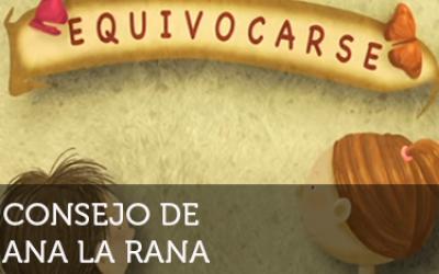 Ana la Rana: Equivocarse