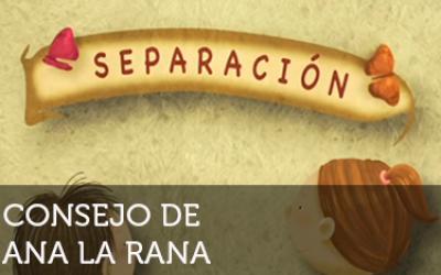 Ana la rana: Separación