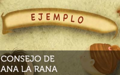 Ana la Rana: Ejemplo
