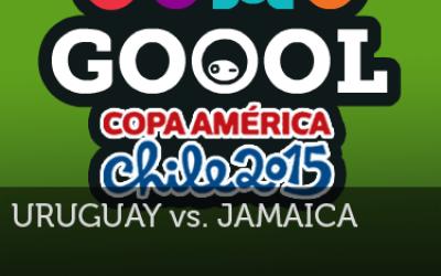 DomoGol - Uruguay 1:0 Jamaica