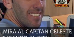 Diego Godín jugando al DED
